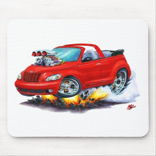 2008-10 convertible rojo del crucero de la pinta tapete de ratón