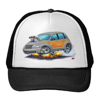 2008-10 PT Cruiser Grey Woodie Trucker Hat