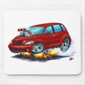 2008-10 PT Cruiser Maroon Car Mouse Pad