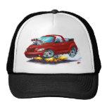 2008-10 PT Cruiser Maroon Convertible Mesh Hats