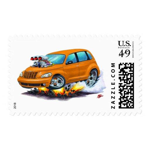 2008-10 PT Cruiser Orange Car Postage Stamp