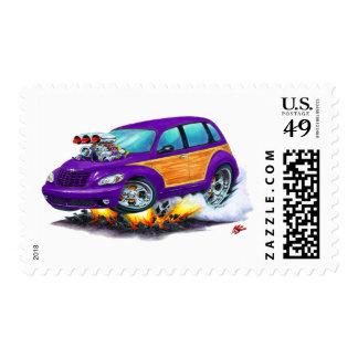 2008-10 PT Cruiser Purple Woodie Postage Stamp