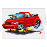 2008-10 PT Cruiser Red Convertible Cards