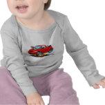 2008-10 PT Cruiser Red Convertible T-shirts