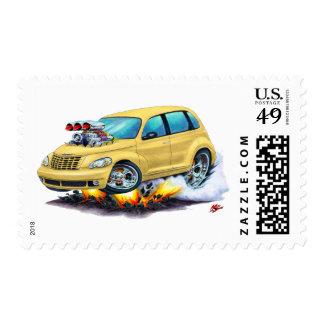 2008-10 PT Cruiser Tan Car Postage Stamp