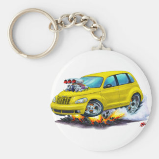 2008-10 PT Cruiser Yellow Car Keychain