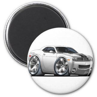2008-2010 Challenger White Car Magnet