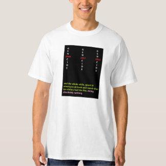 2008, 2012, 2014---Self-evident GENOCIDE T-shirt