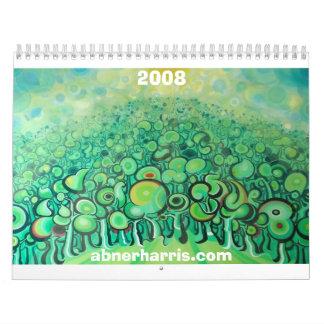 2008 Abner Harris calender Calendar