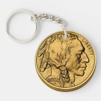 2008 Am Buffalo Gold Bullion Coin Acrylic Keychain