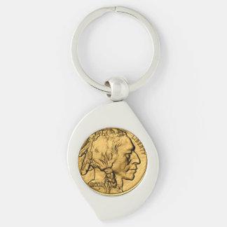 2008 Amer Buffalo Gold Bullion Coin Metal Keychain