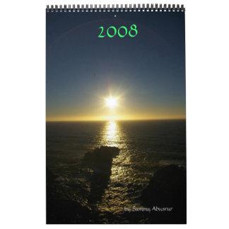 2008: Belleza natural Calendario De Pared