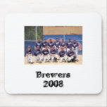 2008 Brewers Mouse Mat