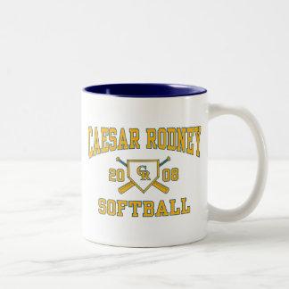 2008 Caesar Rodney Softball Mug