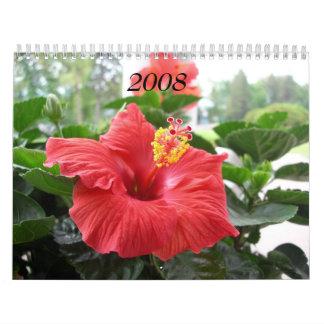 2008 Calendar - Flowers
