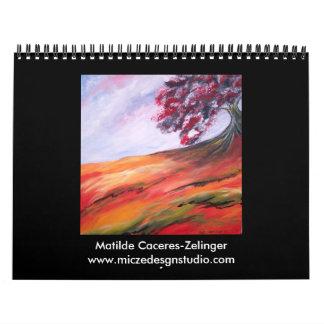 2008 Calendar-Modern Fine Art Calendar