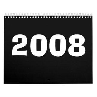 2008 CALENDARIOS