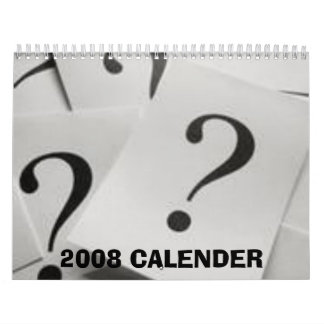 2008 CALENDER CALENDARS