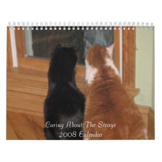 2008 Caring About The Strays Calendar