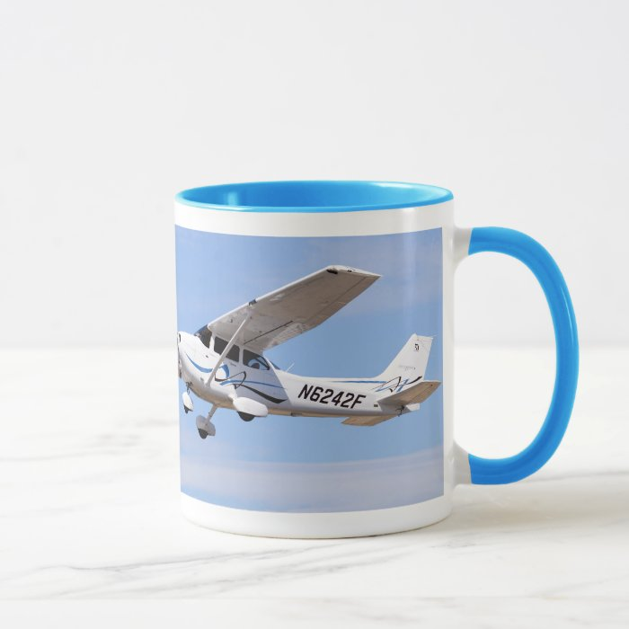 2008 Cessna 172 Skyhawk SP Photo Coffee Mug #2