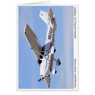 2008 Cessna 172 Skyhawk SP Photo Note Card #2