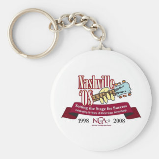 2008 Conference Logo Keychain