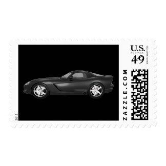 2008 Corvette Sports Car: Black Finish: Postage