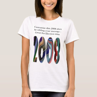 2008 Customize Election Vote Obama or McCain shirt