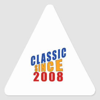 2008 Don't Like Designs Triangle Sticker