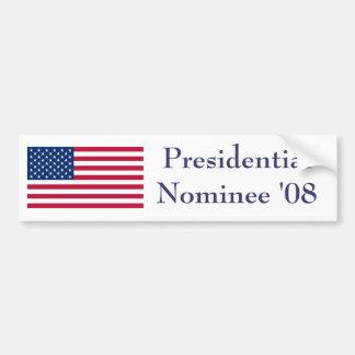 2008 Election Bumper Sticker