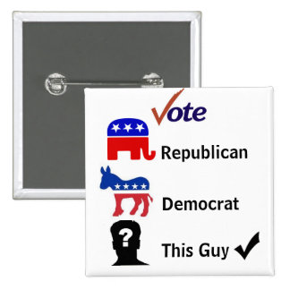 2008 Elections Pins