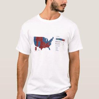 2008 Electoral Map T-Shirt