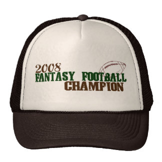 2008 Fantasy Football Champ Trucker Hat