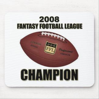 2008 Fantasy Football Champion Shop Mouse Pads