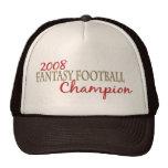 2008 Fantasy Football League Champion Trucker Hats