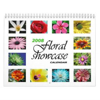 2008 Floral Showcase Calendar