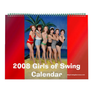 2008 Girls of Swing Calendar