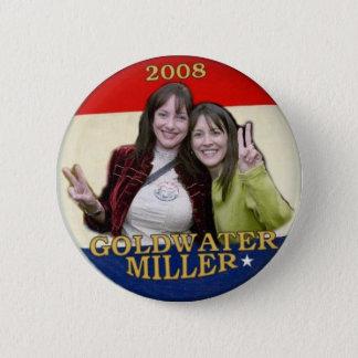 2008 Goldwater/Miller Button