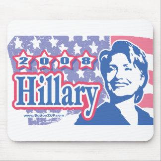 2008 Hillary Mousepad