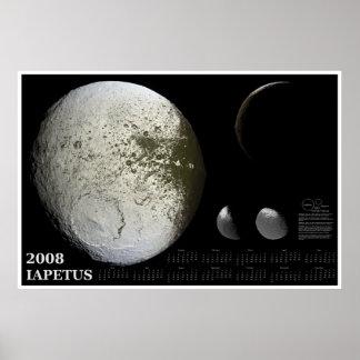 2008 Iapetus Calendar Print