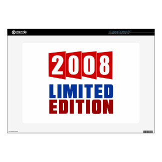 "2008 Limited Edition Skin For 15"" Laptop"