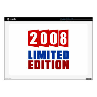2008 Limited Edition Laptop Skins