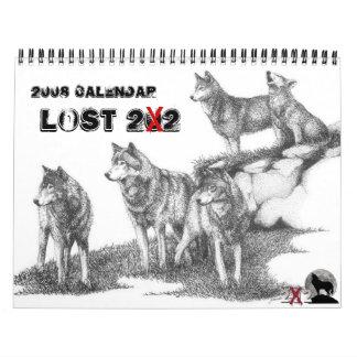 2008 Lost 202 Calendar