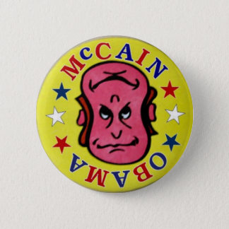 2008 McCain Obama Reversible pin