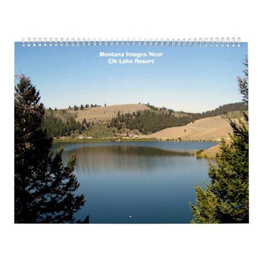 2008 Montana Calendar - Customized