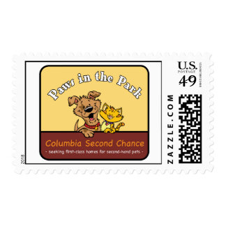 2008 Paws In The Park Postage Stamp