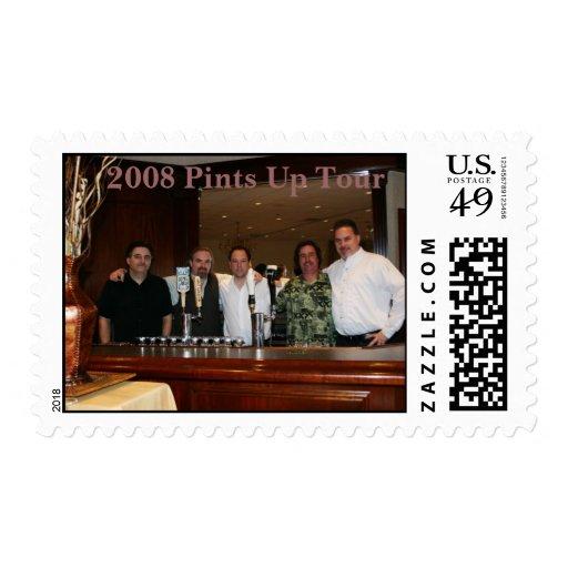 2008 Pints Up Tour Postage
