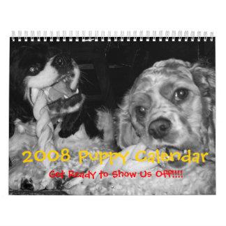 2008 Puppy Calendar