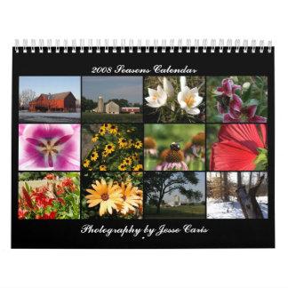 2008 Seasons Calendar