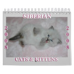 2008 Siberian Cats Calendar2 sm Calendar